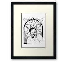 Richard Feynman Framed Print