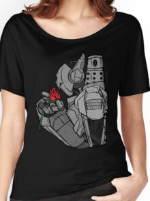 Robot N Rose Women's Relaxed Fit T-Shirt