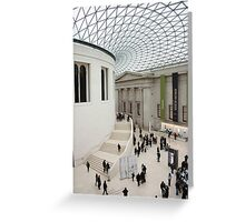 Inside the British Museum Greeting Card