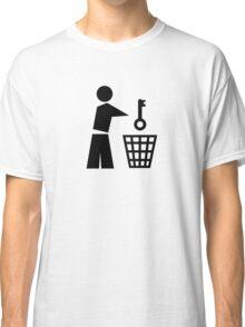 Throw away the key Classic T-Shirt