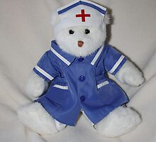 Caring Teddy Nurse by AnnDixon