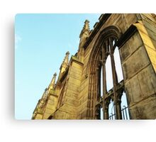 Roofless - Bombed Out Church - Liverpool Canvas Print