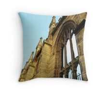 Roofless - Bombed Out Church - Liverpool Throw Pillow