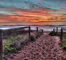 Daybreak - Newport Beach,Sydney Australia - THe HDR Experience by Philip Johnson