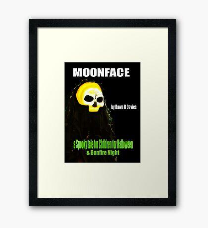 MOONFACE - E-BOOK Framed Print