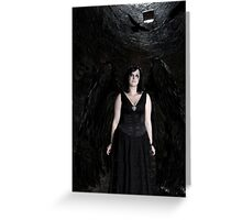 Dark Angel (The Tower) Greeting Card