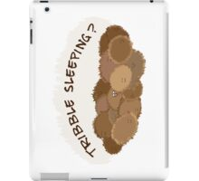 Tribble sleeping? iPad Case/Skin