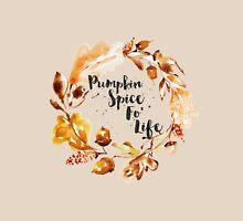 Pumpkin Spice Fo Life Fall Wreath Unisex T-Shirt