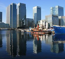 A true reflection of the Docklands by ellismorleyphto