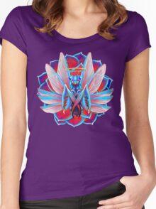 Praying Mantis Women's Fitted Scoop T-Shirt