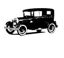 Ford Model A Tudor Sedan by garts