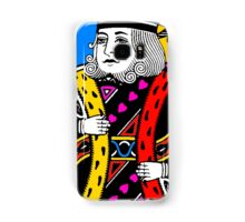 KING OF HEARTS-COLOURS Samsung Galaxy Case/Skin