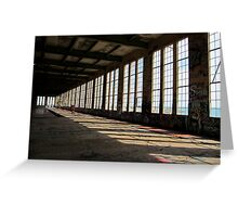 Abandoned Power Station, Western Australia Greeting Card