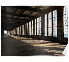 Abandoned Power Station, Western Australia Poster