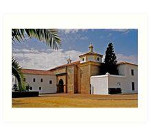 La Rabida Monastery - Huelva Art Print