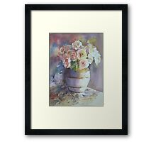 Rose Royal Framed Print