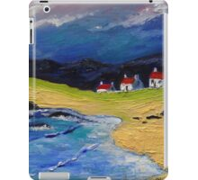 Houses on the Shore iPad Case/Skin
