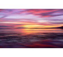 Golden Seam of a Sunset Photographic Print