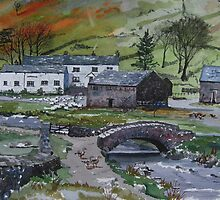 """""""Keeping the Home Fires Burning"""" - Watenlath, the Lake English District by Timothy Smith"""