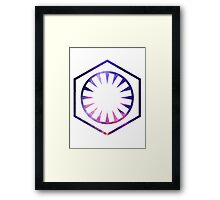 Star Wars - The First Order - Space Framed Print