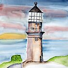 Lighthouse by Eva  Ason
