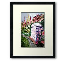 """The Bee Hive"" Framed Print"