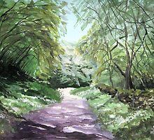 """Walk to Black Rock, Cheddar"" by Timothy Smith"