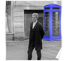 Doctor Who Mad Man In a Blue Box Poster