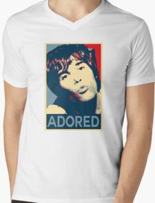 Ian Brown Adored Obey Mens V-Neck T-Shirt