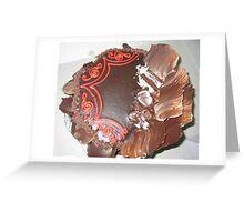 Choco and cofee for Christmas... Greeting Card