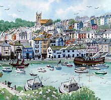 """""""In with the Catch"""" - Brixham, Devon by Timothy Smith"""