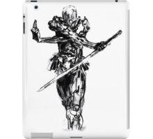 Grey fox draw from metal gear solid iPad Case/Skin