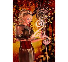 Autumn magic Photographic Print