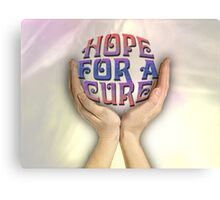 Hope for a cure Canvas Print