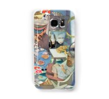 Four at the Last Supper with Judas arriving on Mary Magdolin. Samsung Galaxy Case/Skin