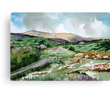"""Mountains & Moors"" - Ballymakeera, County Cork, Ireland Canvas Print"