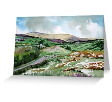 """Mountains & Moors"" - Ballymakeera, County Cork, Ireland Greeting Card"