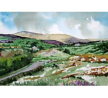 """Mountains & Moors"" - Ballymakeera, County Cork, Ireland Photographic Print"