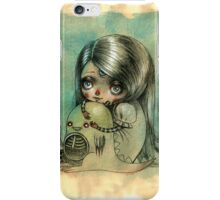 """You can play your videogames but please don't leave me"" iphone case iPhone Case/Skin"