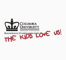 Columbia University Department of Psychology, Paranormal Studies Laboratory. Kids Clothes
