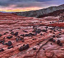 Desert Daybreak by James Marvin Phelps