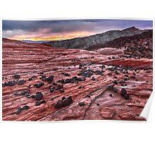 Desert Daybreak Poster