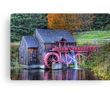 Guildhall Grist Mill Canvas Print