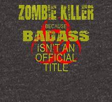 badass zombie killer  Hoodie