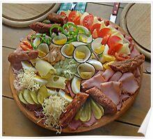 Beautiful, Delicious Snack - Steirische Jause Poster
