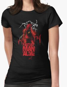 A Flash of Lightning Womens Fitted T-Shirt