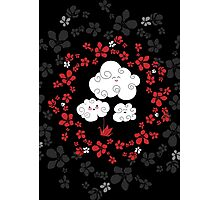 Cute clouds Photographic Print