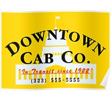 Downtown Cab Company Capitol Poster