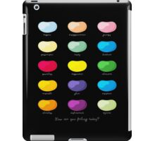 Every emotion beans iPad Case/Skin