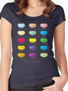 Every emotion beans Women's Fitted Scoop T-Shirt